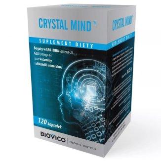 Crystal Mind, 120 kapsułek - zdjęcie produktu