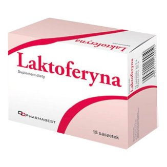 Pharmabest Laktoferyna, 1,5 g x 15 saszetek - zdjęcie produktu