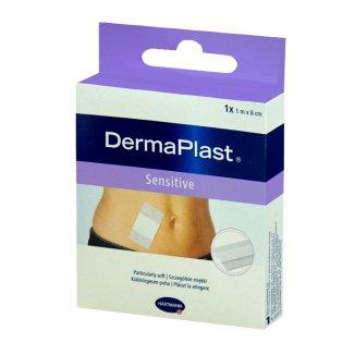 DermaPlast Sensitive, plaster do cięcia, hipoalergiczny, 8 cm x 1 m, 1 sztuka - zdjęcie produktu