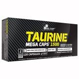 Olimp Taurine 1500 Mega Caps, 120 kapsułek - miniaturka zdjęcia produktu