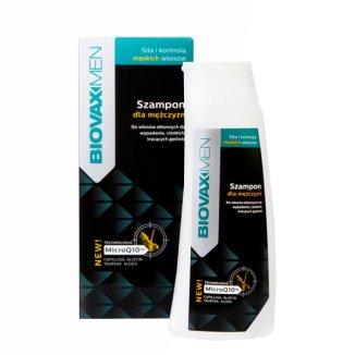 Biovax Men, szampon dla mężczyzn, do włosów skłonnych do wypadania, 200 ml - zdjęcie produktu