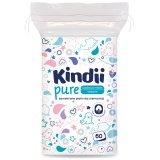 Cleanic Kindii Pure, bawełniane płatki dla niemowląt, 60 sztuk - miniaturka zdjęcia produktu