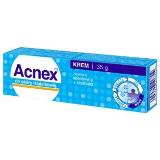 Acnex, krem do skóry trądzikowej, 35 g - zdjęcie produktu