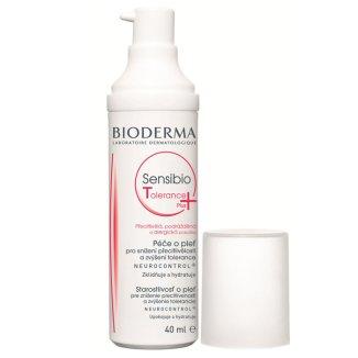 Bioderma Sensibio Tolerance Plus, krem łagodząco-kojący, skóra alergiczna, 40 ml - zdjęcie produktu