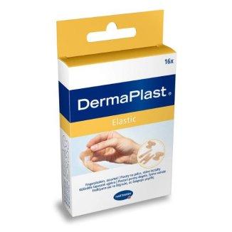 DermaPlast Elastic, elastyczne plastry z opatrunkiem, 4 rozmiary, 16 sztuk - zdjęcie produktu