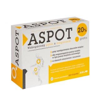 Aspot, potas z magnezem, 60 tabletek - zdjęcie produktu