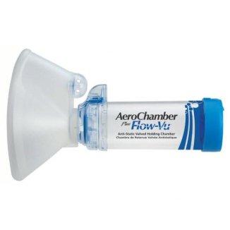 AeroChamber Plus Flow-Vu, komora inhalacyjna z maską dla dorosłych, Large, 1 sztuka - zdjęcie produktu