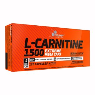 Olimp L-Carnitine 1500 Extreme Mega Caps, 120 kapsułek - zdjęcie produktu