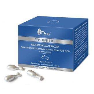 AVA Peptide Lift, koncentrat przeciwzmarszczkowy pod oczy w kapsułkach, 7 x 3 ml - zdjęcie produktu