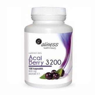 Aliness Acai Berry 3200, 100 kapsułek - zdjęcie produktu
