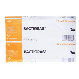 Bactigras, opatrunek parafinowy, jałowy, 15 cm x 20 cm, 1 sztuka - zdjęcie produktu