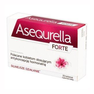 Asequrella Forte, 20 tabletek - zdjęcie produktu