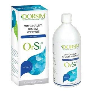 Dorsim OrSi Krzem w płynie, 1000 ml - zdjęcie produktu