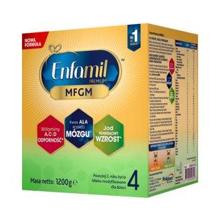 Enfamil Premium MFGM 4, mleko modyfikowane, powyżej 2 roku, 1200 g - zdjęcie produktu