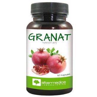 Alter Medica Granat, 60 kapsułek - zdjęcie produktu