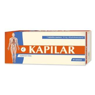 Alter Medica Kapilar, 50 tabletek - zdjęcie produktu
