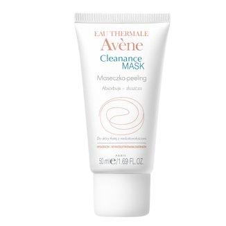 Avene Cleanance Mask, maseczka-peeling, skóra tłusta z niedoskonałościami, 50 ml - zdjęcie produktu