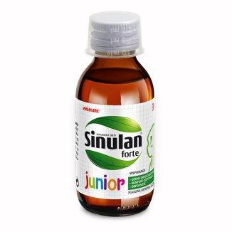 Sinulan Forte Junior, płyn doustny dla dzieci od 3 lat, 120 ml - zdjęcie produktu