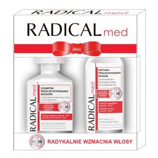 Zestaw Radical Med, szampon przeciw wypadaniu włosów, 300 ml + odżywka przeciw wypadaniu włosów, 200 ml - zdjęcie produktu