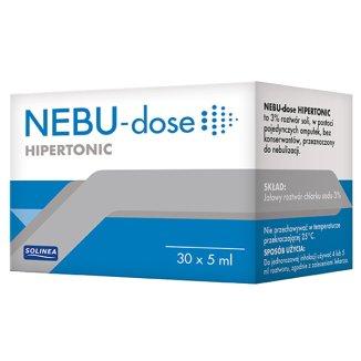 Nebu-Dose Hipertonic, 3% roztwór do nebulizacji, 5 ml x 30 ampułek - zdjęcie produktu