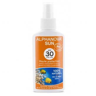 Alphanova SUN, Bio spray ochronny na słońce, SPF30 +, 125 g - zdjęcie produktu