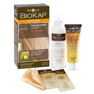 Biokap Nutricolor, farba koloryzująca, 10.0 złoty bardzo jasny blond, 140 ml - zdjęcie produktu