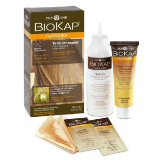 Biokap Nutricolor, farba koloryzująca, 9.0 bardzo jasny blond, 140 ml - zdjęcie produktu