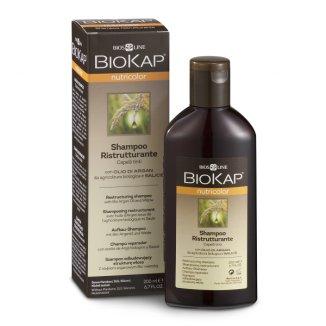 Biokap Nutricolor, szampon odbudowujący strukturę włosa, do włosów farbowanych, 200 ml - zdjęcie produktu