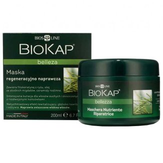 BioKap Bellezza, maska regeneracyjno-naprawcza, 200 ml - zdjęcie produktu