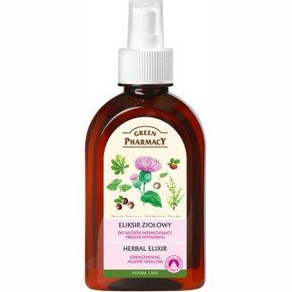 Green Pharmacy, eliksir ziołowy przeciw wypadaniu włosów, 250 ml - zdjęcie produktu