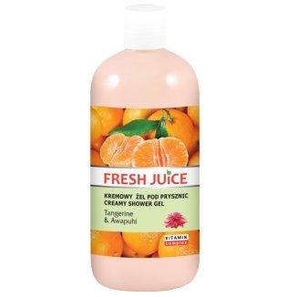 ELFA PHARM, Fresh Juice, kremowy żel pod prysznic, Tangerine i Awapuhi, 500 ml - zdjęcie produktu