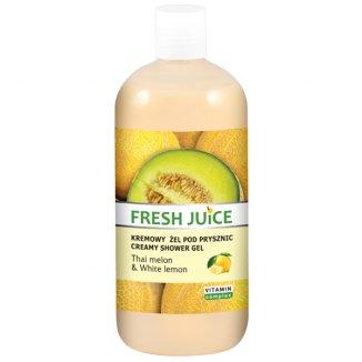 ELFA PHARM, Fresh Juice, kremowy żel pod prysznic, Thai melon & White lemon, 500 ml - zdjęcie produktu