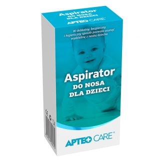 Apteo Care, aspirator do nosa, od urodzenia - zdjęcie produktu