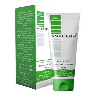 Amaderm Urea 15%, krem nawilżająco-regenerujący, 50 ml - zdjęcie produktu