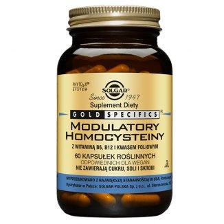 Solgar Gold Specifics Modulatory Homocysteiny, 60 kapsułek roślinnych - zdjęcie produktu