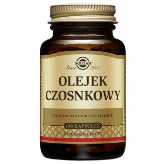 Solgar Olejek czosnkowy, 100 kapsułek - zdjęcie produktu