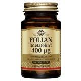 Solgar Folian (Metafolin) 400 µg, 50 tabletek - miniaturka zdjęcia produktu