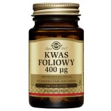 Solgar Kwas foliowy 400µg, 100 tabletek - miniaturka zdjęcia produktu