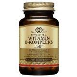 Solgar Formuła witamina B-kompleks 50, 50 kapsułek roślinnych - miniaturka zdjęcia produktu