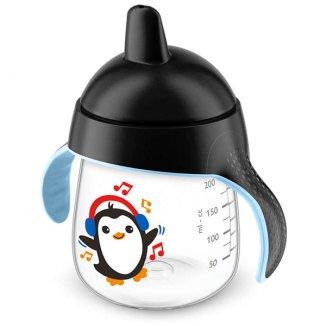 Avent, kubek niekapek z twardym ustnikiem i uchwytami, SCF753/00, od 12 miesiąca, 260 ml - zdjęcie produktu