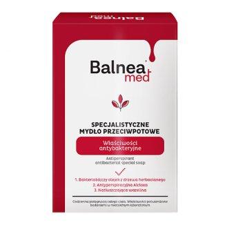 Barwa Balnea, specjalistyczne mydło antybakteryjne przeciwpotne w kostce, 100 g - zdjęcie produktu