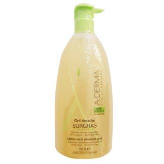 A-Derma, żel pod prysznic, ultra bogata konsystencja, skóra sucha i wrażliwa, 750 ml - zdjęcie produktu