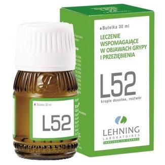 L52, krople doustne, roztwór, 30 ml - zdjęcie produktu