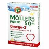 Moller's Forte 50+, 60 kapsułek - miniaturka zdjęcia produktu