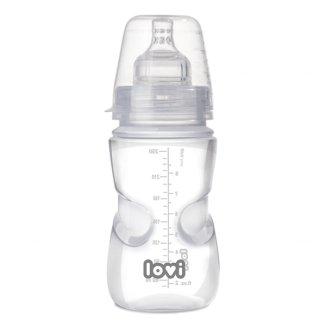 Lovi Medical+, butelka antykolkowa ze smoczkiem dynamicznym, Wolny, od 3 miesiąca, 250 ml - zdjęcie produktu