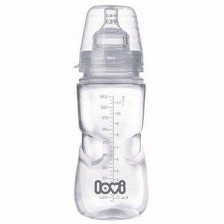 Lovi Medical+, butelka antykolkowa ze smoczkiem dynamicznym, przepływ szybki, od 9 miesiąca, 330 ml - zdjęcie produktu