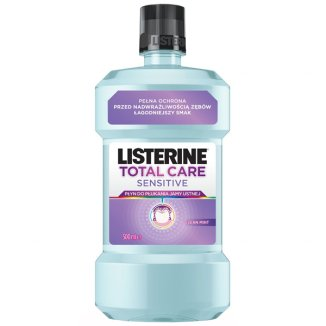 Listerine Total Care Sensitive, płyn do płukania jamy ustnej, 500 ml - zdjęcie produktu