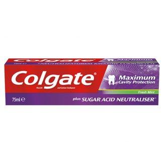 Colgate, pasta do zębów Maximum Cavity Protection, Fresh Mint, 75 ml - zdjęcie produktu
