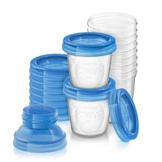 Avent, pojemniki na pokarm, SCF618/ 10, 10 x 180 ml - zdjęcie produktu