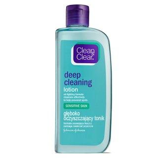 Clean & Clear, głęboko oczyszczający tonik, skóra wrażliwa, 200 ml - zdjęcie produktu